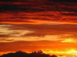 Sonne, Sonnenuntergang