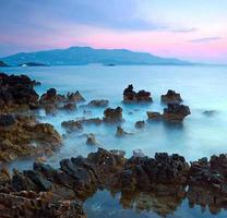 Sonnenuntergang am Meer