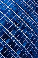 blaue abstrakte Ernte des modernen Büros foto