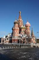 st. Basilikum Kathedrale in Moskau foto