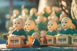 Figuren bei Haedong Yonggungsa foto