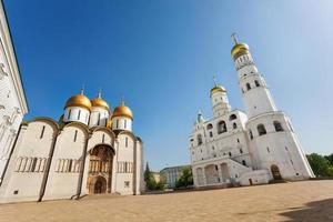 Annahme Kathedrale und Ivan der große Glockenturm foto