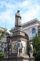 Leonardo da Vinci Denkmal, Mailand foto