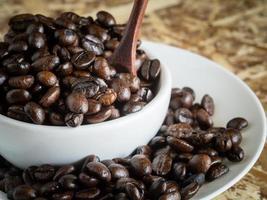 Kaffee mit Filtereffekt im Retro-Vintage-Stil