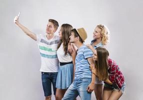 schöne junge Leute foto