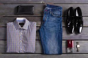 exklusive Herrenbekleidung. foto