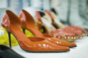 weibliche Schuhe foto