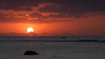 Küstensonnenuntergang 034 foto