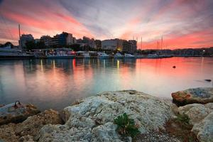 Zea Marina in Piräus, Athen. foto