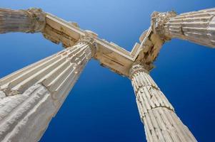 Tempel von Trajan foto