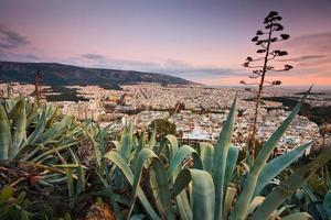 Athen, Griechenland. foto