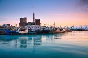 zentraler fischmarkt in piraeus, athens. foto