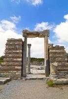 Ruinen des Ephesus foto
