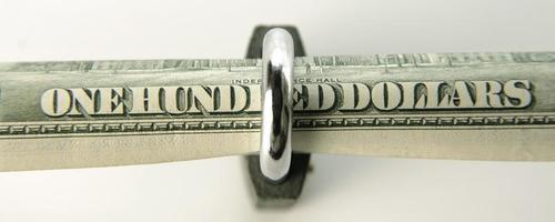 Geldsicherheitsreihe foto