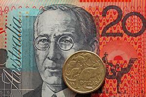 australisches Geld foto