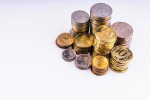 Geld. die Münzen.