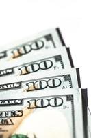 vierhundert Dollarnoten foto