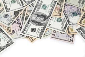 amerikanische Banknoten foto