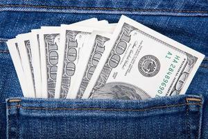 Geld in meiner Tasche foto