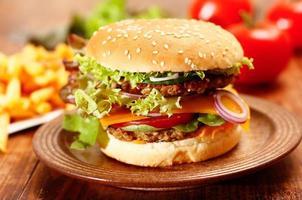 Cheeseburger foto