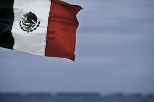 Mexikanische Flagge foto