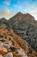 Straße nach Sa Calobra foto