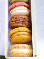 Macaron Coloful Dessert foto