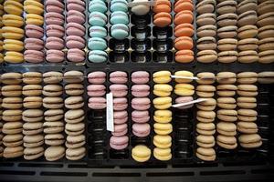 Spezialität für Süßigkeiten - Macarons foto