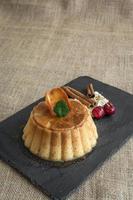 traditionelle französische bunte Macarons foto