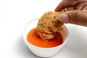 Gebratenes Huhn foto