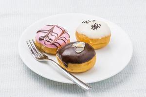 Stück Donut Aromen.