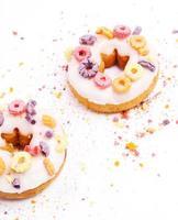 leckere Donuts foto