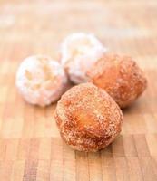 gebratene Donuts foto