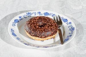 Donuts, Gebäck, Kuchen foto