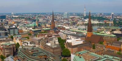 Blick auf Hamburg foto