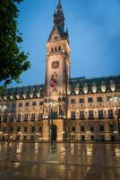 Hamburger Rathaus foto