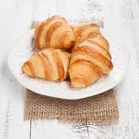 frische Croissants foto