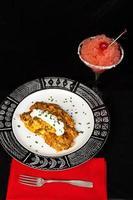 Hühnchen-Enchilada-Abendessen foto