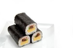 gerolltes Sushi foto