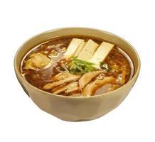 sauer-würzige Suppe (koreanische Suppe) foto