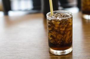 beliebtes Soda im Restaurant foto