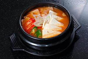 koreanische Suppe