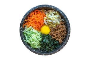 koreanisches bibimbap foto