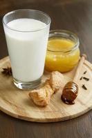 warme Milch foto