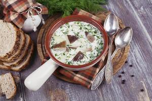 Pilz Suppe