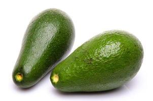 zwei Avocado