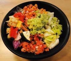 Gemüseschale oben foto