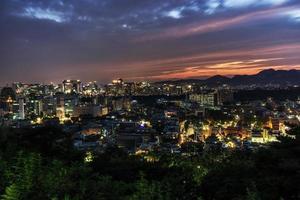 Blick auf den Naksan Park foto