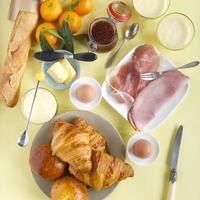 Frühstückstisch foto