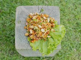 würziger Salat foto